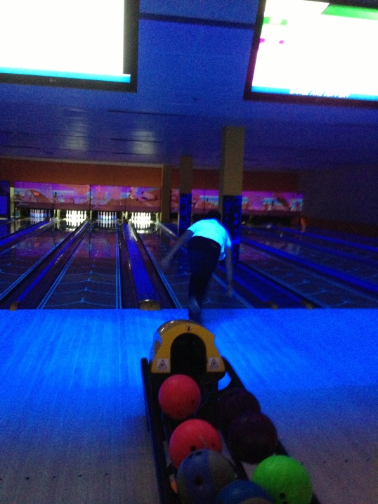 Bowling with the Hubby