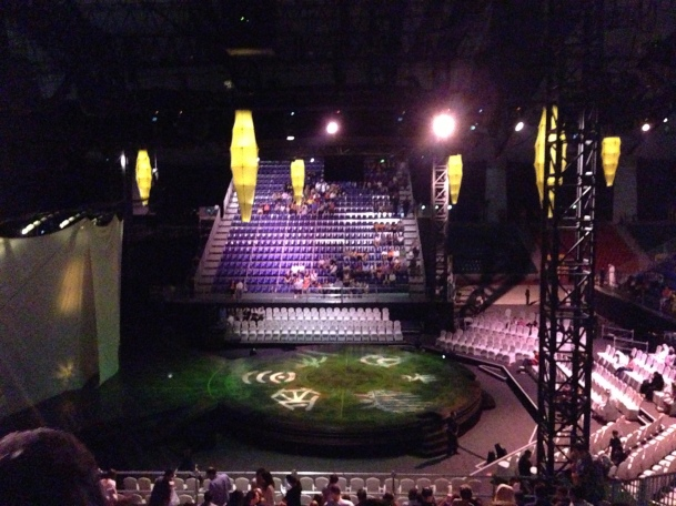 Cirque du Soleil: Dralion-Before the show