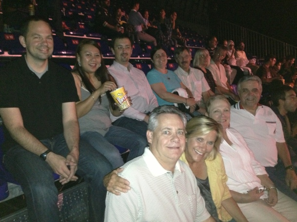 The gang at Cirque du Soleil: Dralion