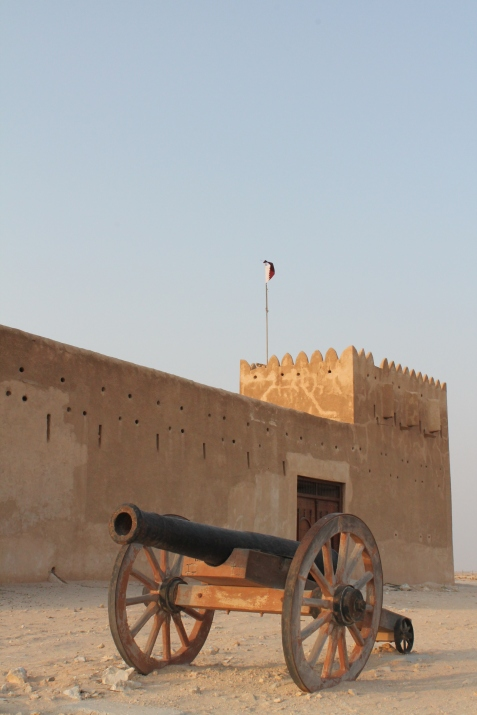 A picture for the road :)  Al Zubarah Fort