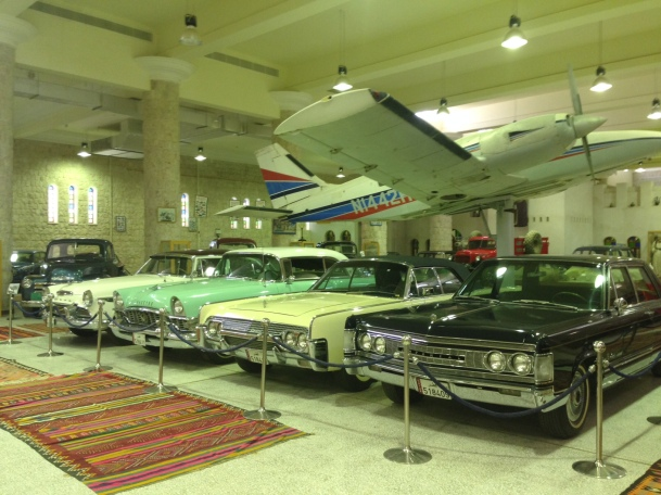 Some really old cars at the Sheikh's museum