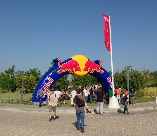 Flugtag Red Bull Entrance